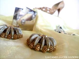 calzature e scarpe d'epoca - tacchi proibiti - scarpa beige 1 - la camelia collezioni