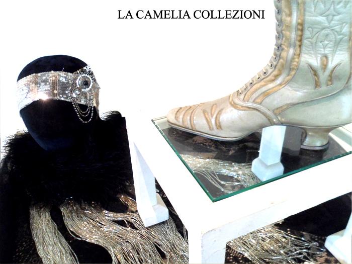 calzature e scarpe d'epoca - tacchi proibiti - stivaletto 1- la camelia collezioni