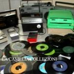 dischi vinili vintage- radio d epoca- la camelia collezioni
