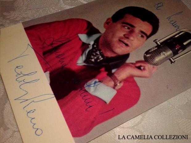 teddy reno autografo - la camelia collezioni