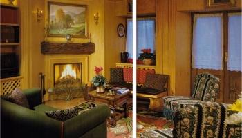 Tende Filet Fine 800 Per La Casa Di Montagna La Camelia Collezioni