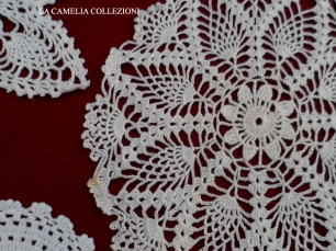 Centrini Alluncinetto Colore Bianco La Camelia Collezioni