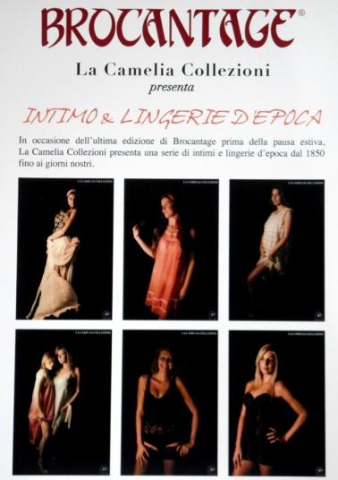 brocantage - tematica intimo d'epoca - la camelia collezioni