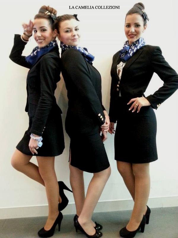 divise da hostess - vestiti da hosetss di volo - divise da hostess di terra - la camelia collezioni