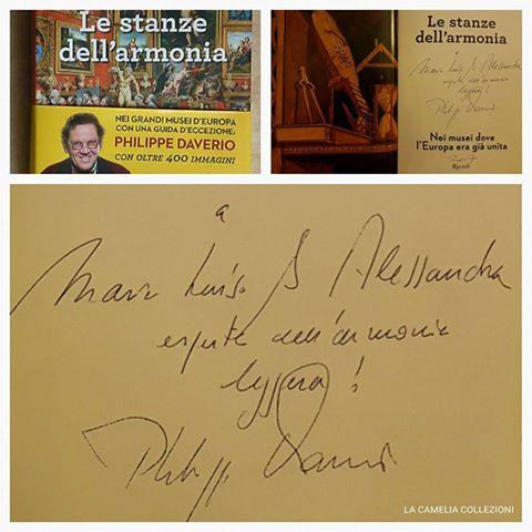philippe daverio - le stanze dell'armonia - autografo - la camelia collezioni