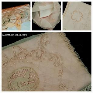 Porta fazzoletti antichi e d epoca - la camelia collezioni