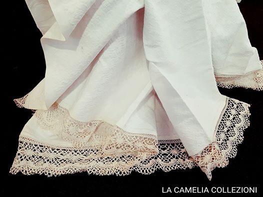 shabby chic - country chic - bohemien - copriletti in piquet - la camelia collezioni