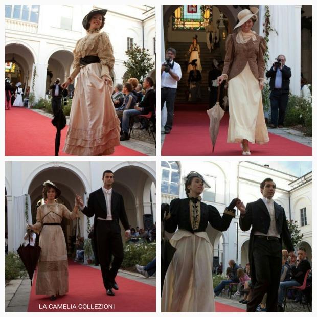 Belle epoque - my fire Lady - abiti 800 - la camelia collezioni