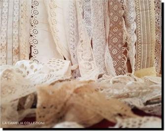 sangallo - pizzi trine merletti -collezione - la camelia collezioni