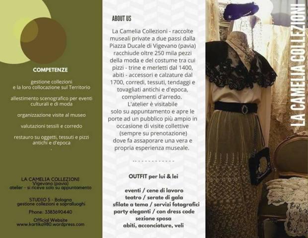 la camelia collezioni - brochure pieghevole