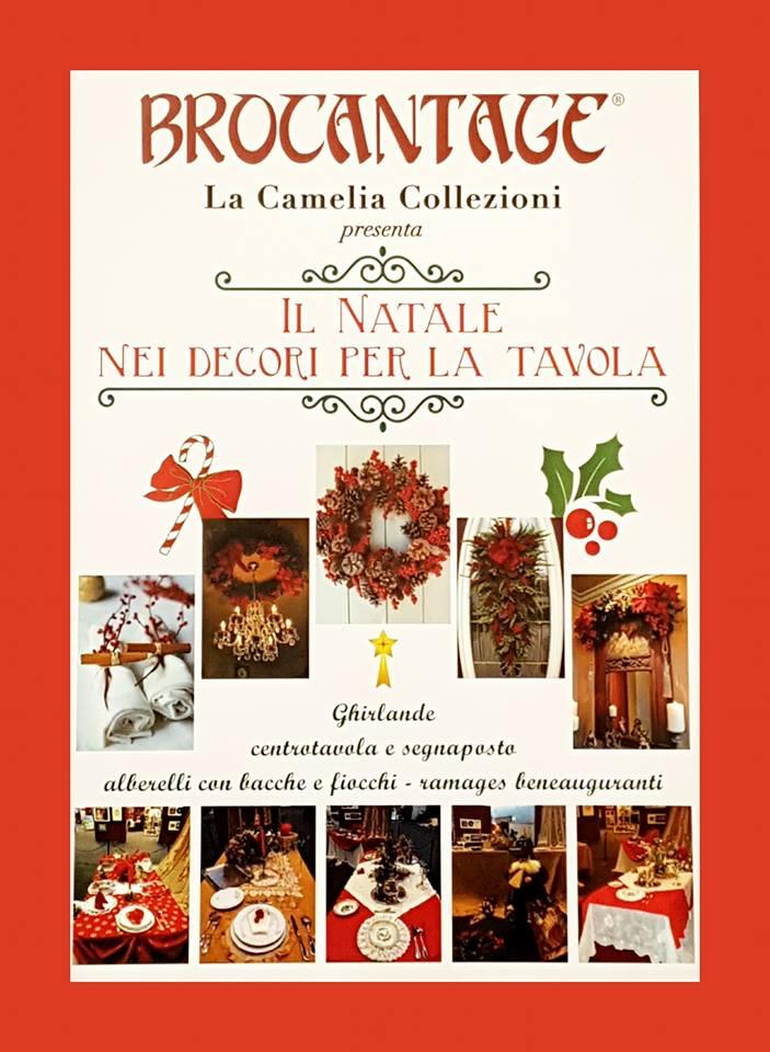 brocantage - edizione dicembre 2017 - area tematica ddedicata al natale - la camelia collezioni