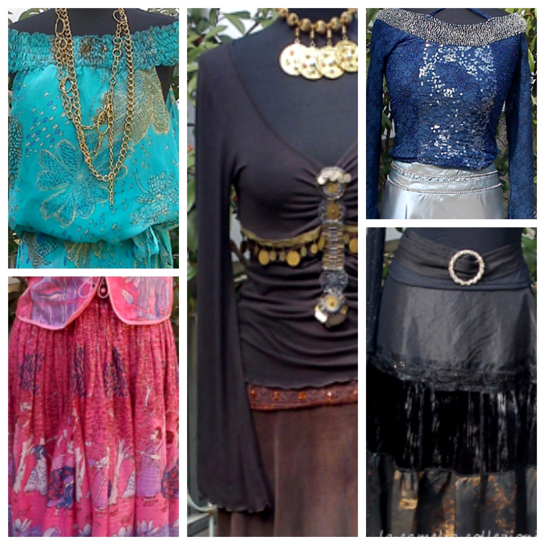 Vestiti gitano folk gipsy- la camelia collezioni