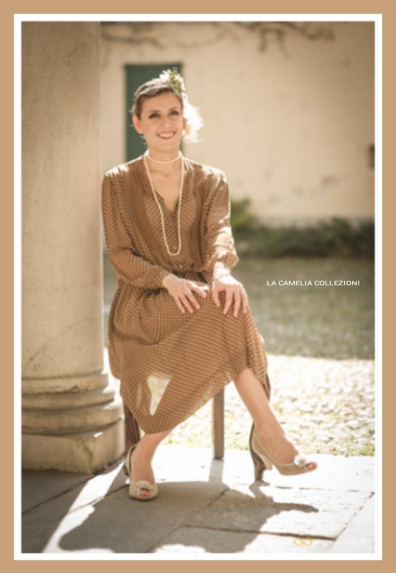 moda anni 40 - vestiti anni 40 - a pois - la camelia collezioni (1)