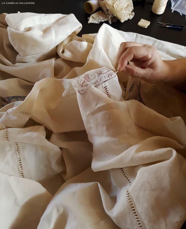 restauro micro filet - la camelia collezioni