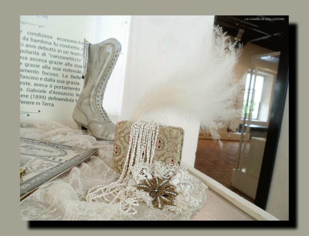 calzature d'epoca - allestimento vetrine - la camelia collezioni
