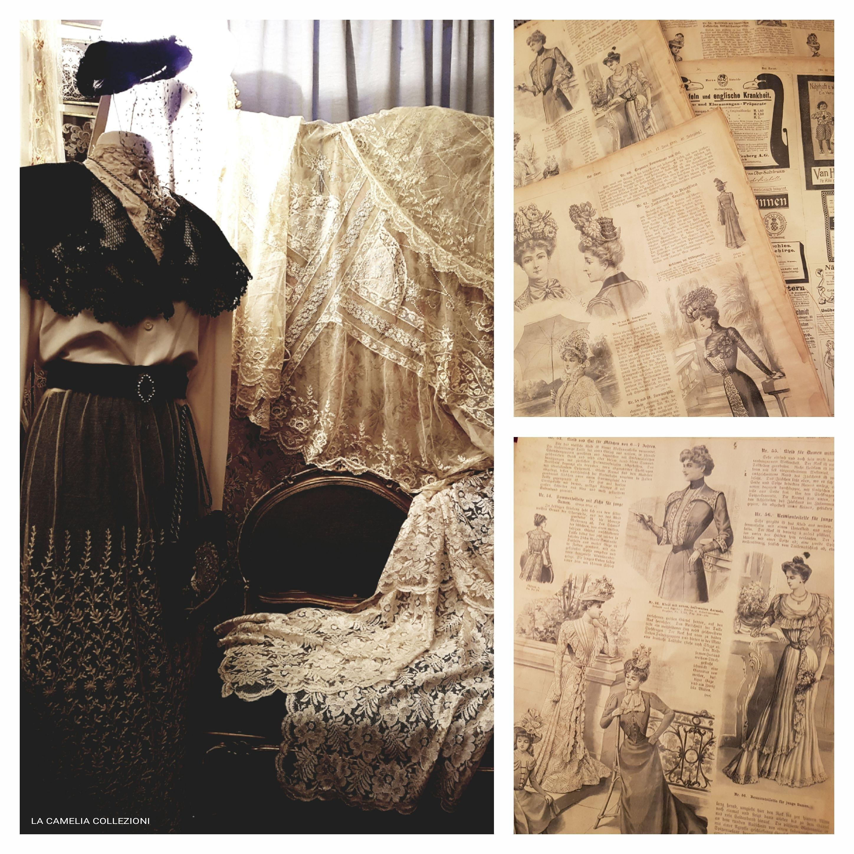 volumi storici della moda - la camelia collezioni