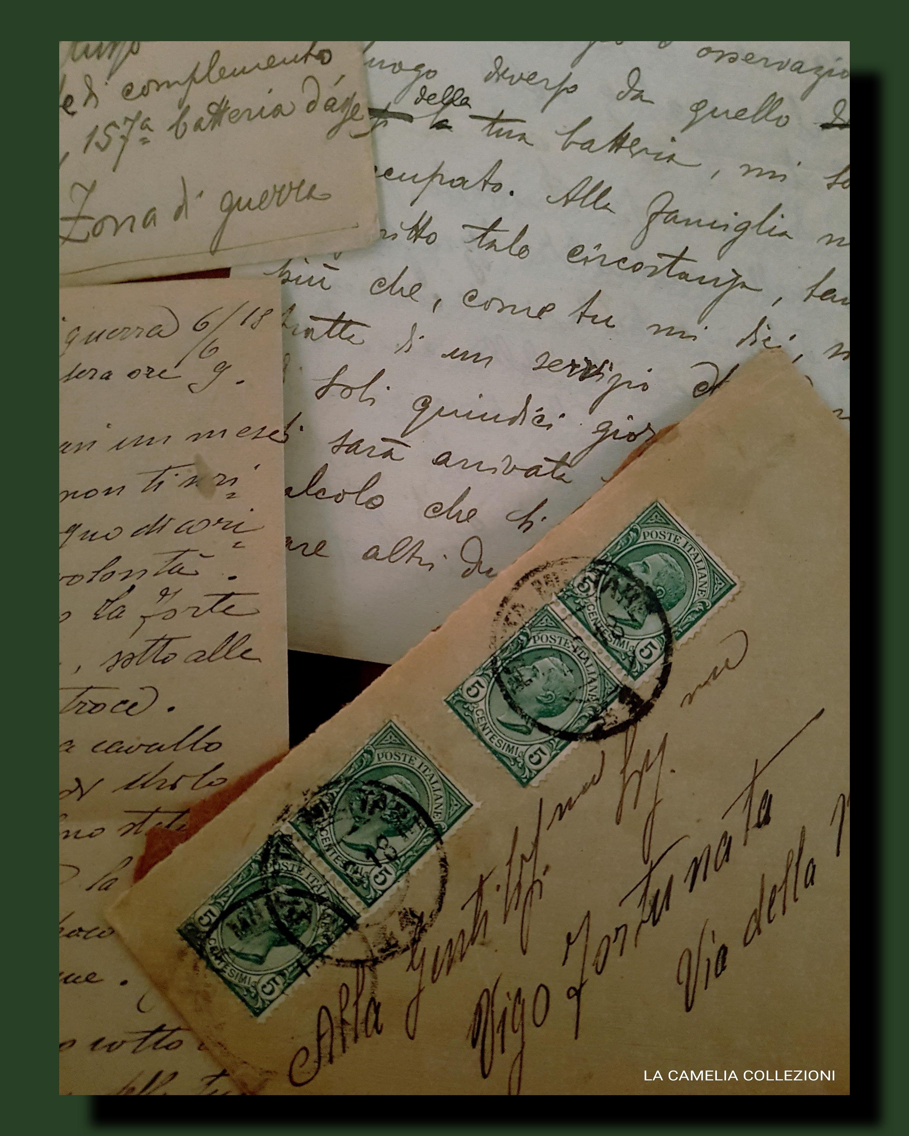 storia postale, annulli e timbri - collezione 01 - la camelia collezioni