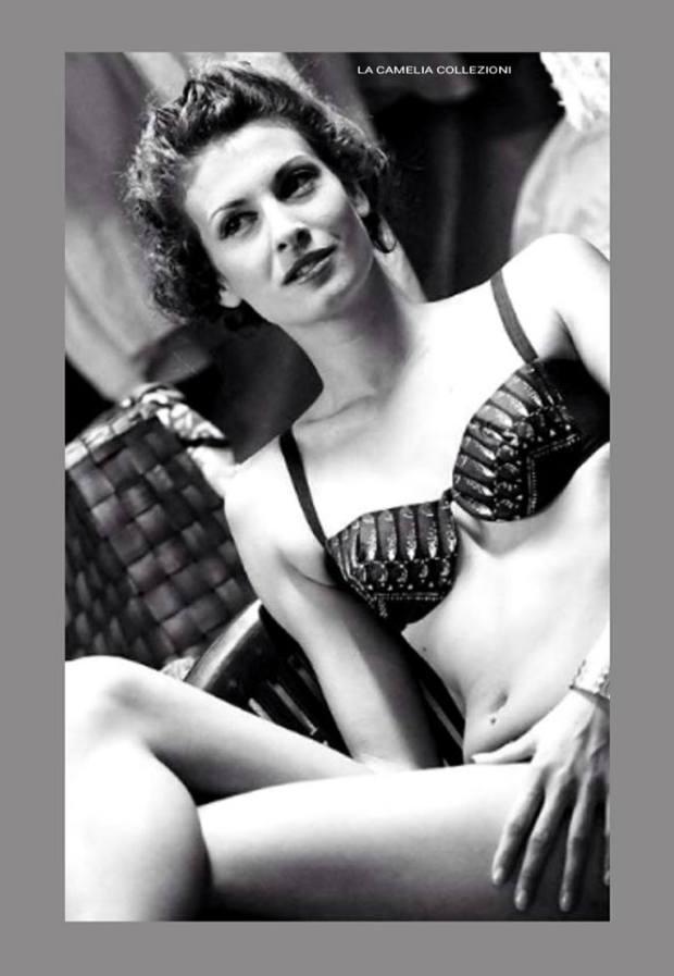 vintage beachwear - bikini - la camelia collezioni