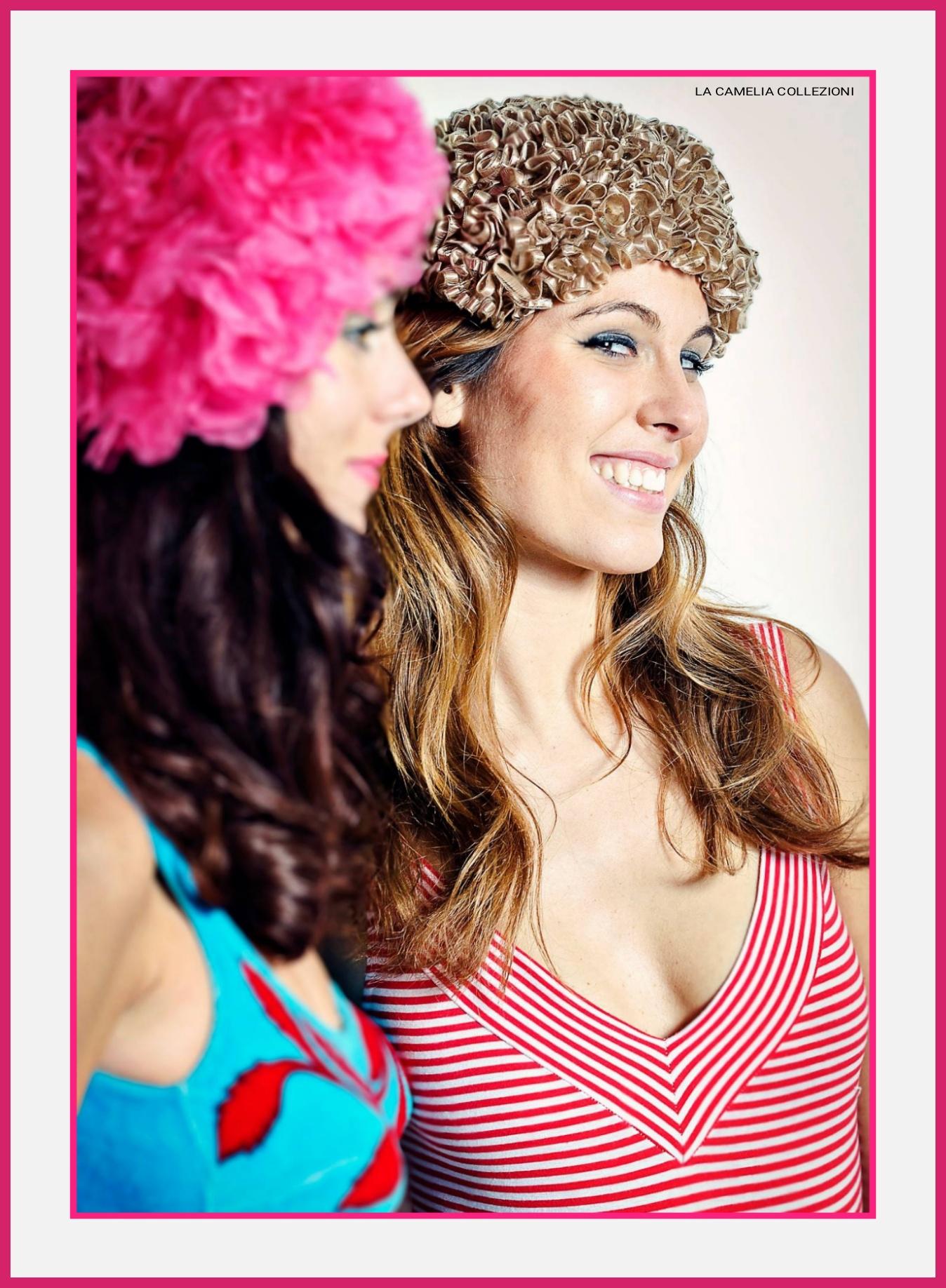Vintage beachwear- vintage hats