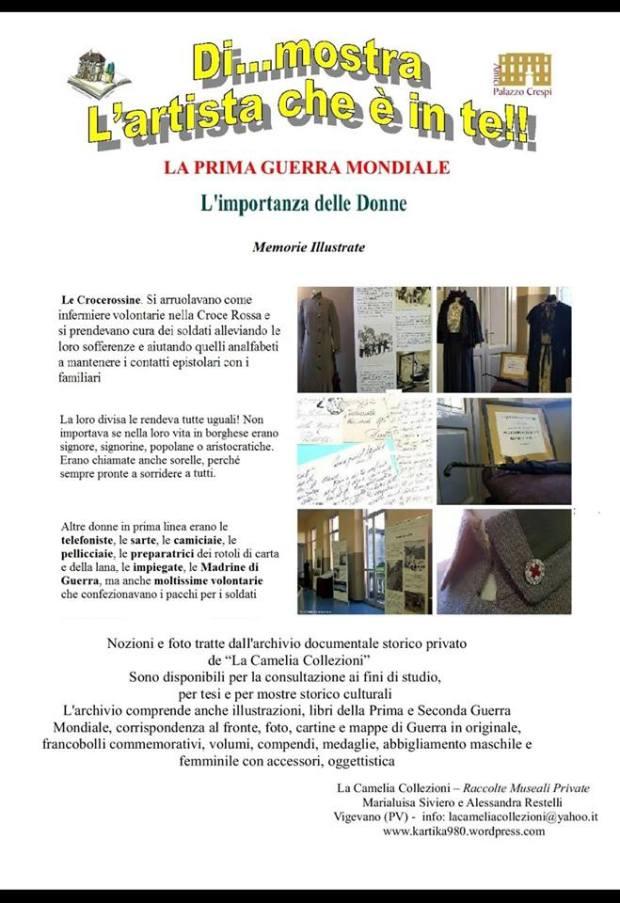biblioteca civica mastronardi vigevano - dimostra 2018 - la prima guerra mondiale