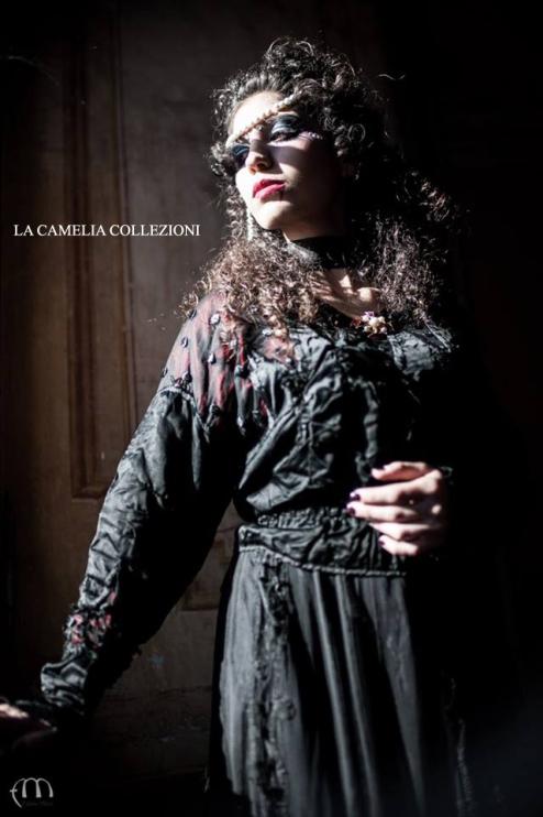 gotico dark - outfit - la camelia collezioni