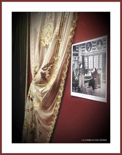 eleonora duse - allestimento mostra novembre 2018 - la camelia collezioni