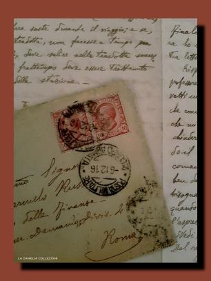 lettere prima guerra mondiale - 1 - la camelia collezioni