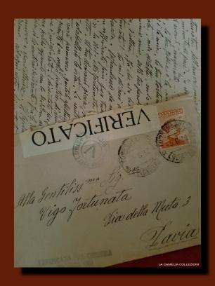 lettere prima guerra mondiale - 2 - la camelia collezioni