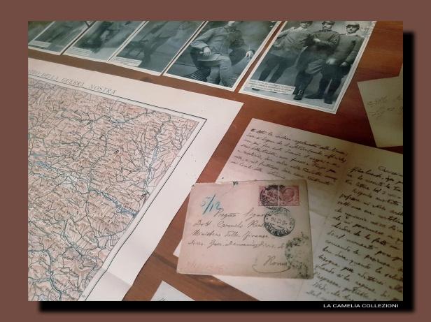 lettere prima guerra mondiale - 3 - la camelia collezioni