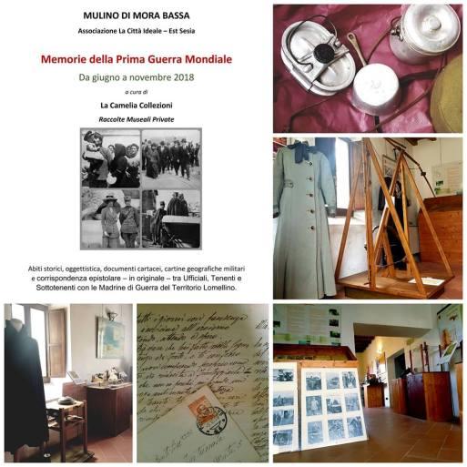 prima guerra mondiale - commemorazione - museo mora bassa - la camelia collezioni
