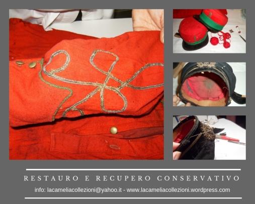 restauro e recupero conservativo cimeli - la camelia collezioni