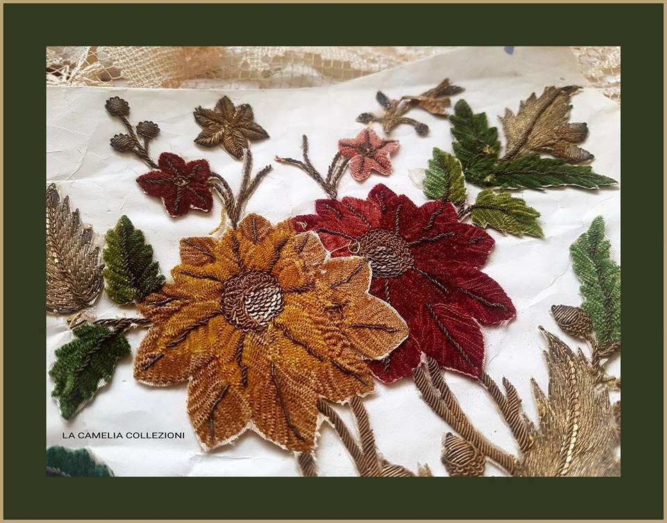 applicazioni per paralumi - alto arredo - foliage - la camelia collezioni
