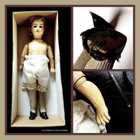 restauro bambola francese - la camelia collezioni