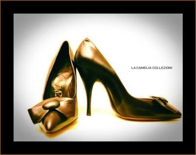 calzature anni 60 - dark brown - archivio privato - la camelia collezioni