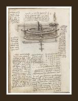 Leonardo da Vinci - macchine tessili - la camelia collezioni
