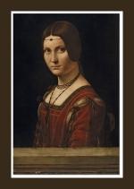 Leonardo da Vinci - panneggio - la camelia collezioni