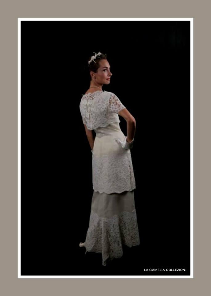 hot sale online ce3c9 b3e65 vestiti da sposa | La Camelia Collezioni