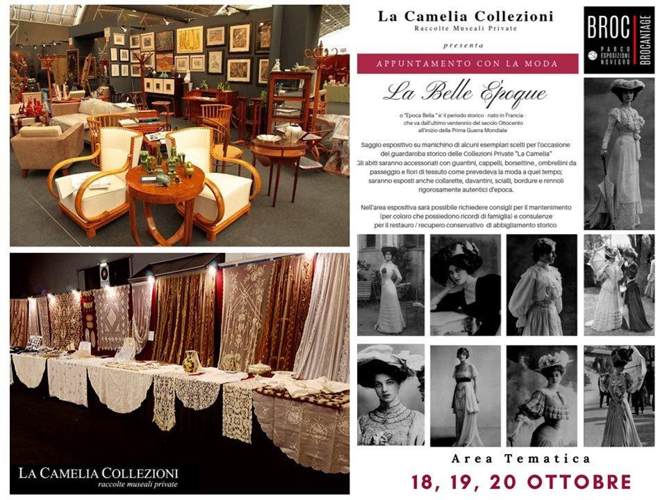 brocantage - ottobre 2019 - parco esposizioni novegro - la camelia collezioni