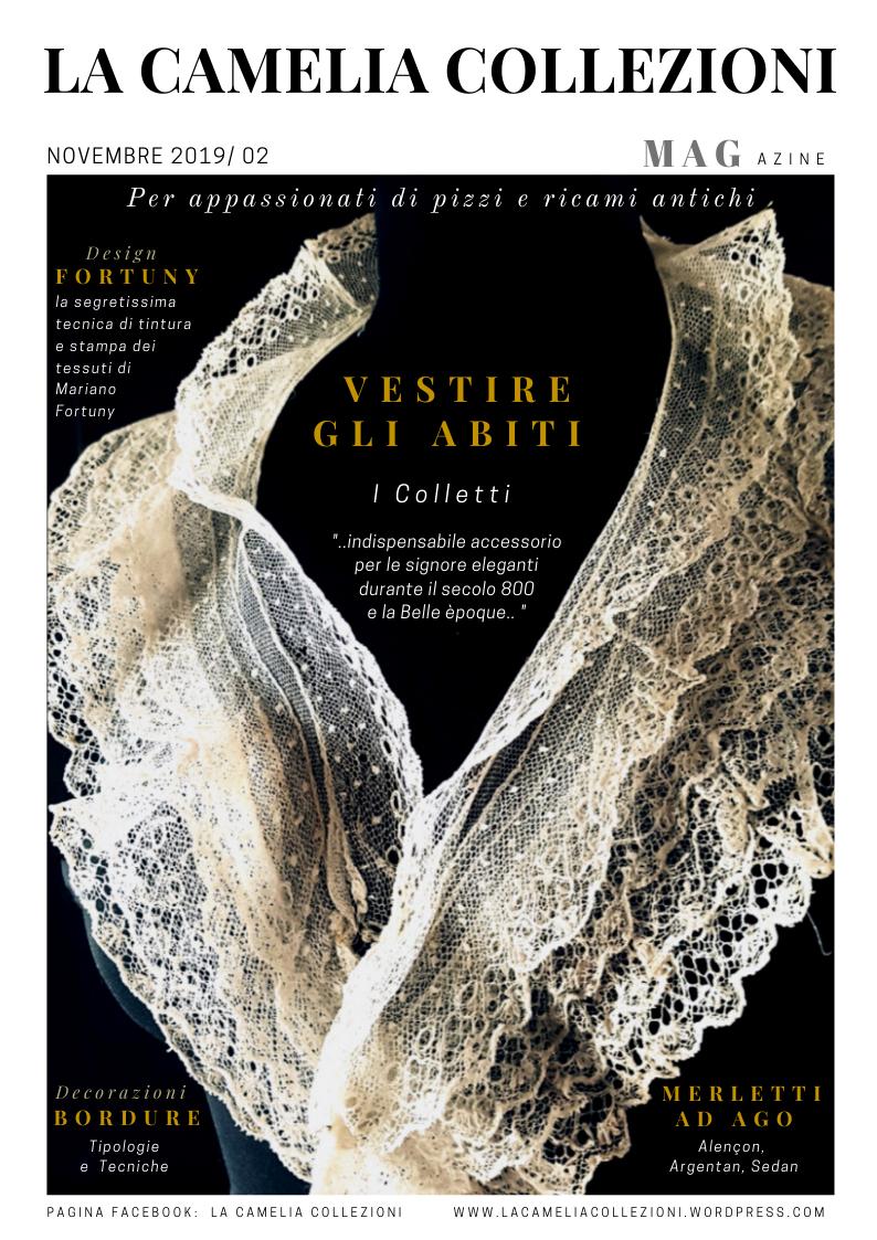 LA CAMELIA COLLEZIONI magazine - novembre 2019 - copertina