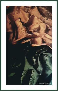 tessuti antichi e stoffe d'epoca - collezione privata - la camelia collezioni