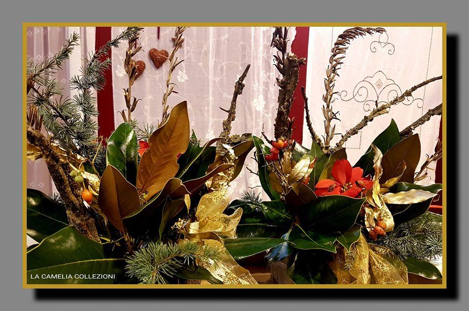 composizioni floreali natalizie - la camelia collezioni