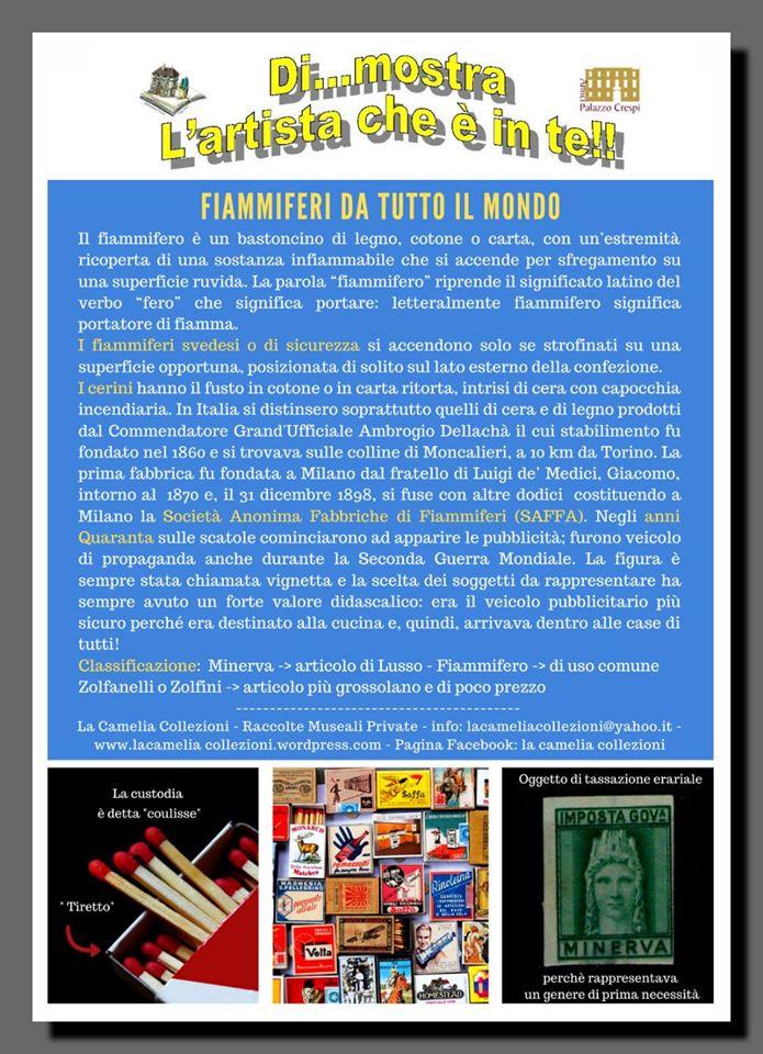 fiammiferi da tutto il mondo - biblioteca mastronardi - la camelia collezioni