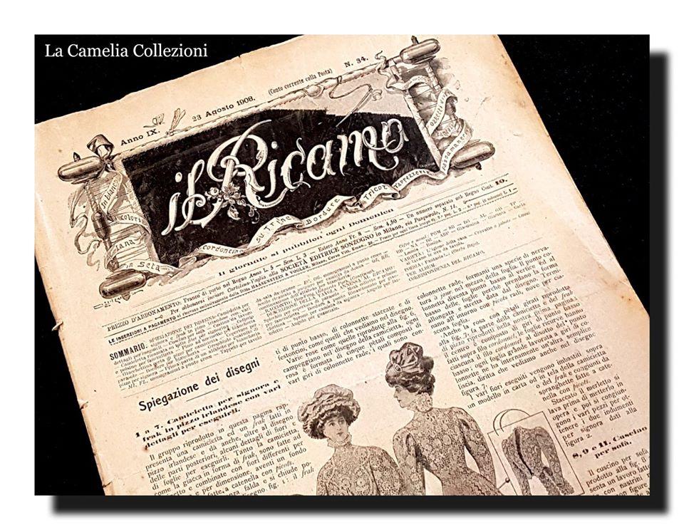 IL RICAMO - dispense digitalizzate - la camelia collezioni