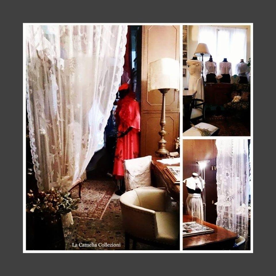 museo privato pizzi trine e merletti - la camelia collezioni