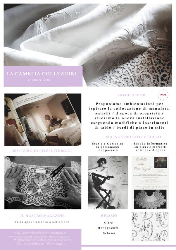 Newsletter - Giugno 2020 -la camelia collezioni