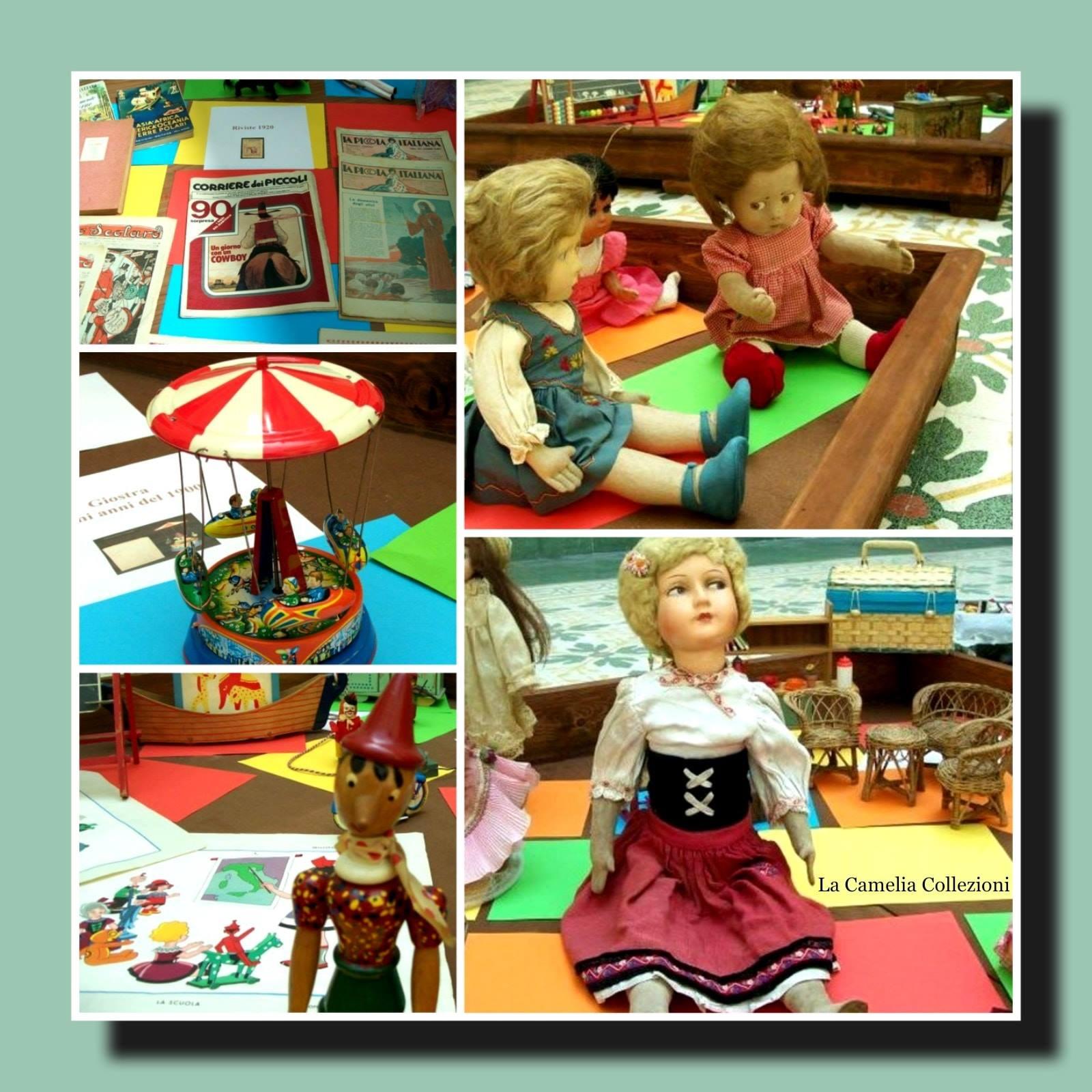 giocattoli antichi e d'epoca - mostra - la camelia collezioni